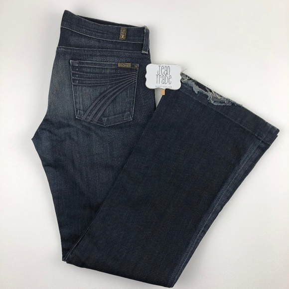 7 for all Mankind Denim - 7 for all mankind dojo flare jean 30x33